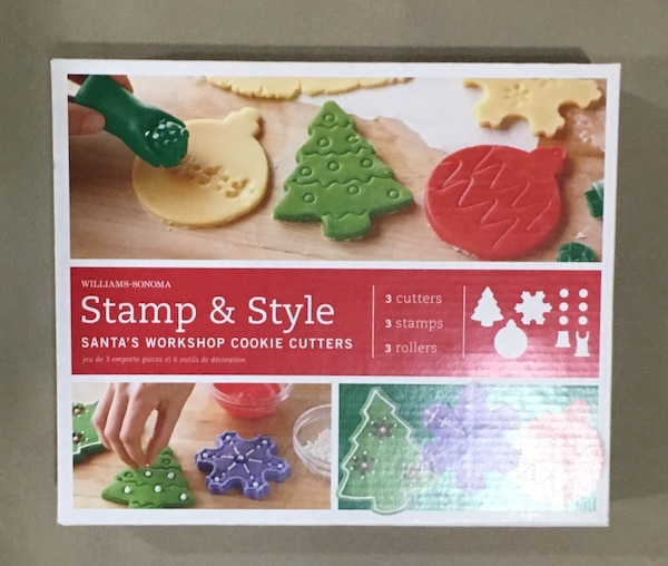 WILTON and WILLIAM SONOMA Cake Decoration (embossed, cookie cutter, cake decorating kit) 6be18d55-74fd-426c-8606-723d1560fd10