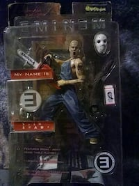 Eminem action figure does it collector's edition Vacaville, 95687