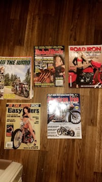 5 motorcycle magazines Des Moines, 50310