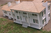 Handcrafted replica of Tara Dollhouse Millbrook, 36054