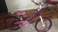 Purple and white bmx bike Chicago, 60623