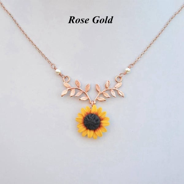 FASHION SNFLOWER NECKLACE