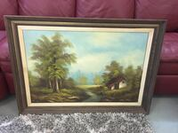 Original art painting  Vacaville