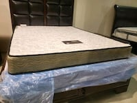 New Queen mattress coil. DELIVERY available. Bed not included  Edmonton, T5A 4H3