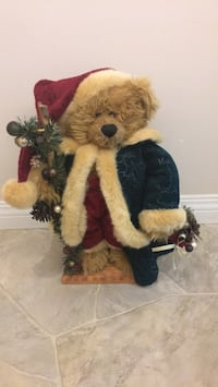 Christmas Bear decoration (plush) St Albert, T8N