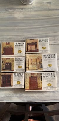 """BRAND NEW/ NEVER OPENED """"The house of Miniatures"""""""