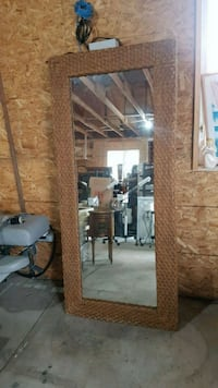 large wicker mirror  Brampton, L6X