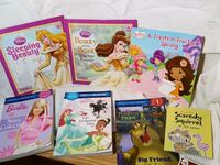 8 Girl princess & reading books Halton Hills, L7G 6L8