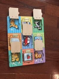 Toddler Activity Board with Magnets