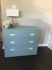 Gorgeous 3-drawer deep dresser. Fusion French Eggshell Paint. Delivery St Catharines, L2P 3L2