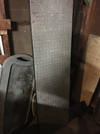 gray diamond plated truck saddle box Barrie, L4M