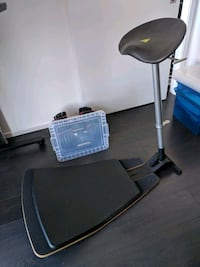 Focal Locus Height Adjustable Ergonomic Stool Toronto, M5B 0A9