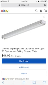 Ceiling light white  Covina, 91722