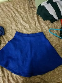 Charlotte russe blue flared skirt (small) Washington, 20037