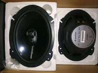 two black Pioneer coaxial speakers Knoxville, 37917