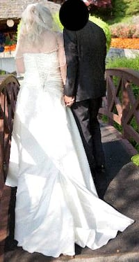 Beautiful Wedding Dress - sz 18
