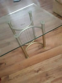 Beveled Glass End Tables