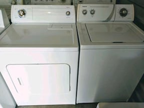 Whaser and dryer set súper capacity plus