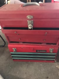 red and black tool chest Saint Cloud, 34772