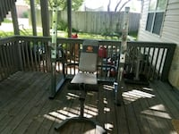 ✸ ✸ OLYMPIC BENCH/LAT TOWER HONE GYM ✸✸  Franklin