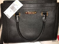 black Michael Kors leather tote bag Montreal, H1P 2L5