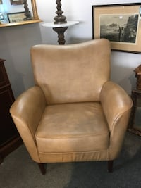 Brand New Faux Leather Beige Chair London, N5X 2J1