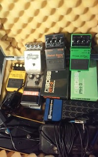 Pedals. amps boards and other Kawartha Lakes, K0M 2T0