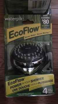 Waterpik Eco Flow shower head in blister pack Brampton, L6R 2X4