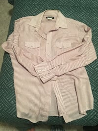 Wrangler Western snap button shirt    Men's large very good condition only wire few times.  Originally 60$ Langley, V3A 1R2