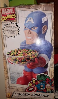 Marvel  comics candy bowl's