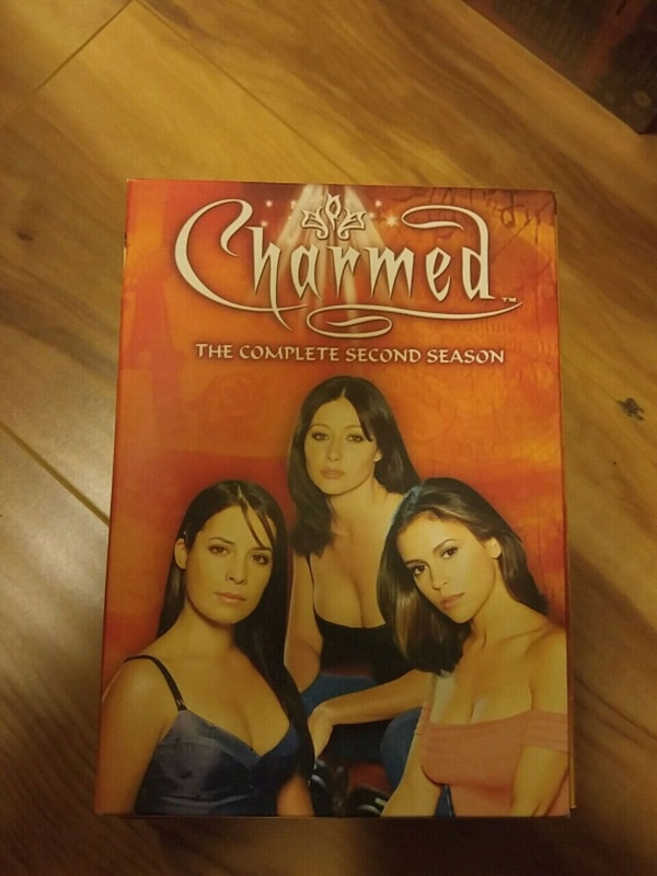 Charmed The Complete Second Season DVD case