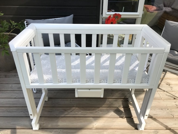 3 i 1 - Bedside Crib Two inkl. Madrass