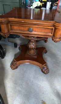Fancy table with drawer nice decorative details.  Frederick, 21703