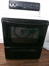 black and gray induction range oven Rochester, 14623