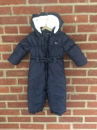 Navy Blue Toddler Girl Winter Suit, Chicco, 12 M Washington, 20012