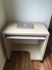 IKEA Desk with wheels!!