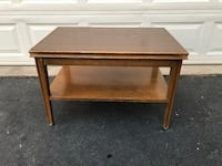 Mid Century Modern MCM Solid Wood Coffee Table Project Piece  Manassas, 20112