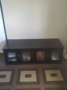 Brown tv unit
