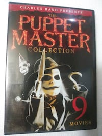 Puppet Master 9 movie collection dvds