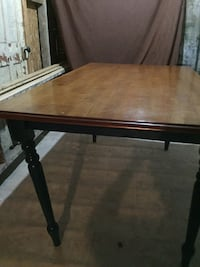 rectangular brown wooden dining table Troy, 12180