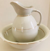 Antique Water pitcher and bowl basin Altamonte Springs, 32714