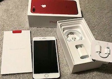 Red iphone 7 plus.  Will ship.  No trades.