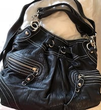 "Authentic ""Hype"" Genuine Leather Hibo Style Handbag/Purse"