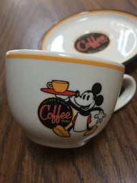 Rare Walt Disney Coffee / Espresso Cup and Saucer Freehold, 07728