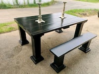 Rustic Dining Table Spruce Grove, T7X 4B2