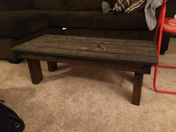 Handcrafted Wood Coffee Table 05d2a85a-40f7-4596-9650-7a84a24b5623