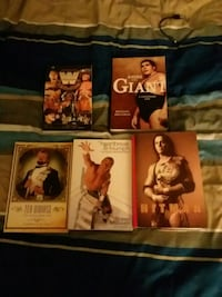Lot of WWE autobiographie books
