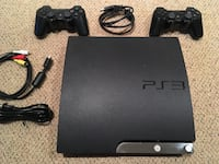 PS3 console and 22 games Burlington, L7L 6P9