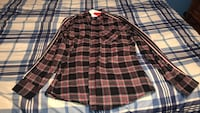 Black and red plaid flannel Stafford, 22556