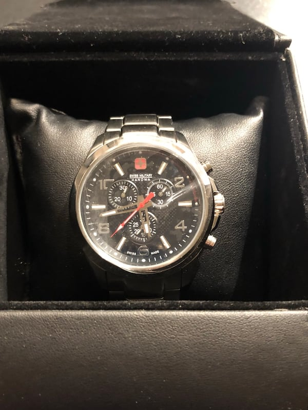 Swiss Military Hanowa Predator Analogue Chronograph Watch ca2e5278-49e4-4363-ac0e-0113aca4a4a5